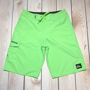 Quiksilver boy's board shorts